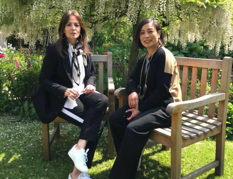 Daniela Agnelii and Joanne Jong the future of fashion week